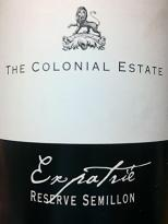 The Colonial Estate Expatrie Reserve Semillon 2007, Barossa Valley, SA