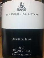 The Colonial Estate Sauvignon Blanc 2010, Adelaide Hills, SA