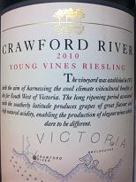 Crawford River Young Vines Riesling 2010, VIC