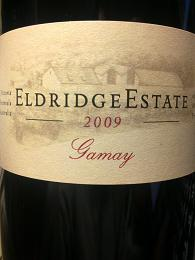 Eldridge Estate Gamay 2009, Mornington Peninsula, VIC