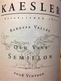 Kaesler Old Vine Semillon 2008, Barossa Valley