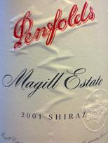 Penfolds Magill Estate 2001