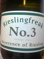 Rieslingfreak No.3 2010, Clare Valley, SA