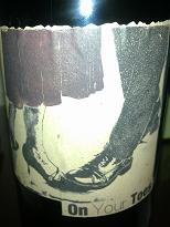Sine Qua Non On Your Toes 2001 Syrah, Central Coast