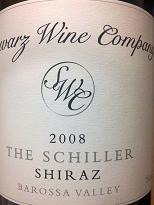 Schwarz Wine Co Schiller Shiraz 2008